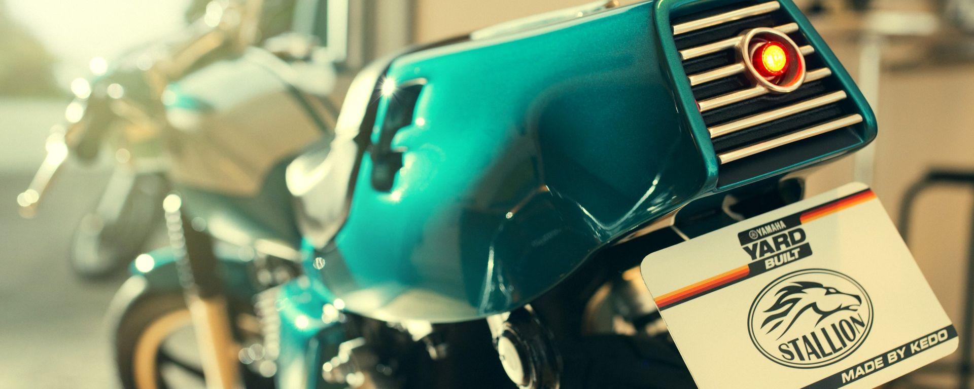 Yamaha SR 400 Bronco & Stallion