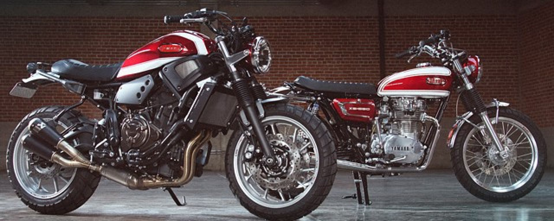 Yard Built Yamaha Fast father & Fast Son, c'è una certa somiglianza