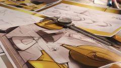 Yellow Teapot, disegni (2)