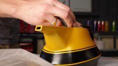 Yellow Teapot, prodotto finito