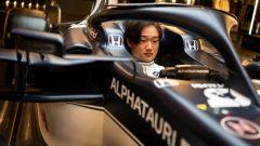 Yuki Tsunoda e Alpha Tauri AT02