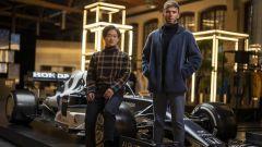 Yuki Tsunoda e Pierre Gasly con la Alpha Tauri AT02