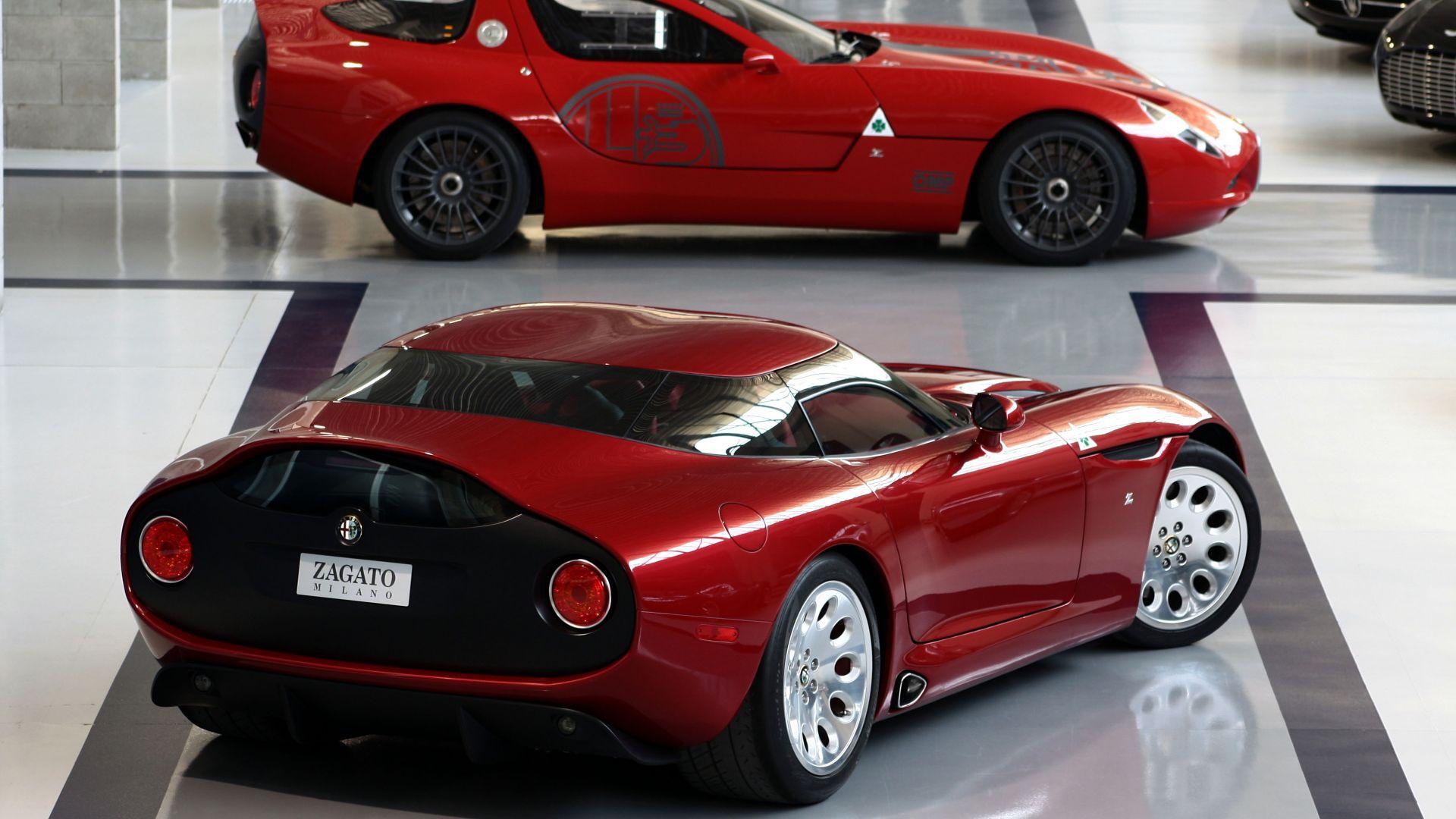 Martin Auto Museum >> Anteprima: Zagato Alfa Romeo TZ3 Stradale - MotorBox