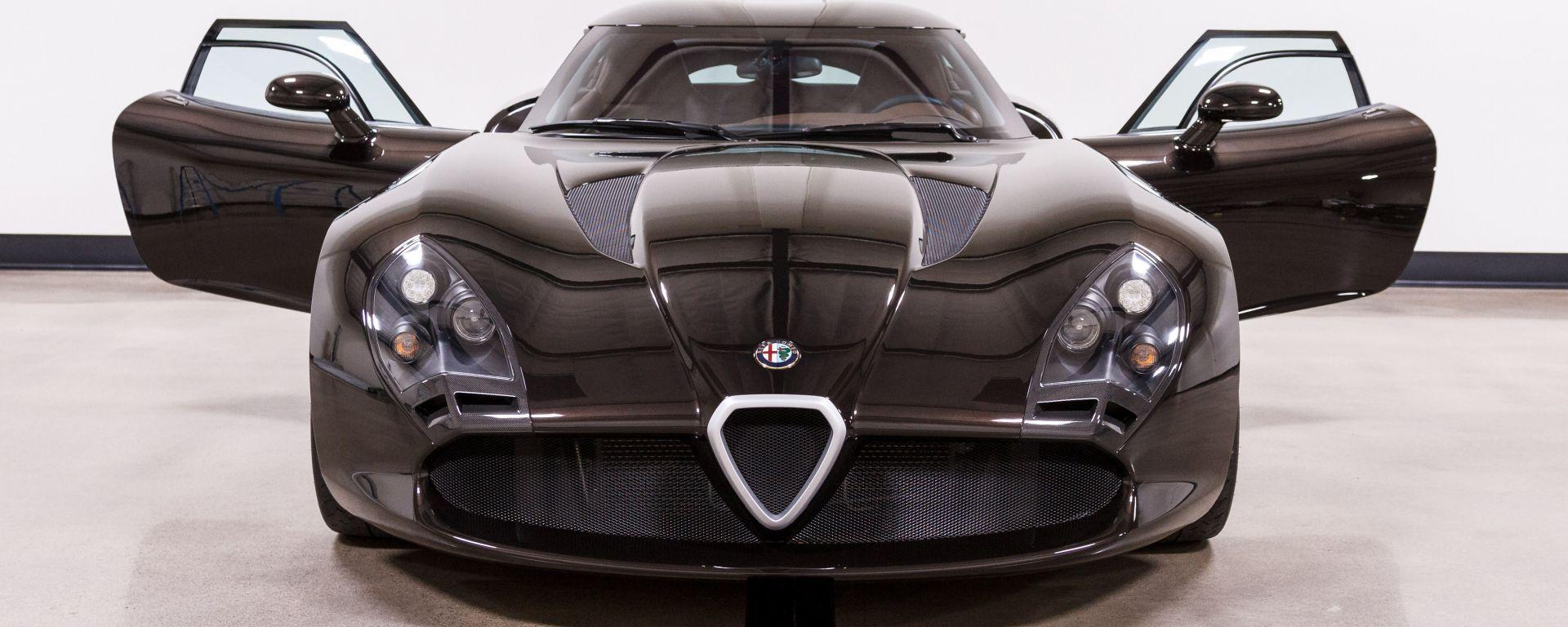 Zagato Alfa Romeo TZ3, vista frontale - Courtesy: TSG Autohaus