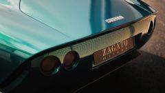 Zagato Iso Rivolta GTZ, il posteriore