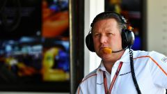 Zak Brown, CEO della McLaren