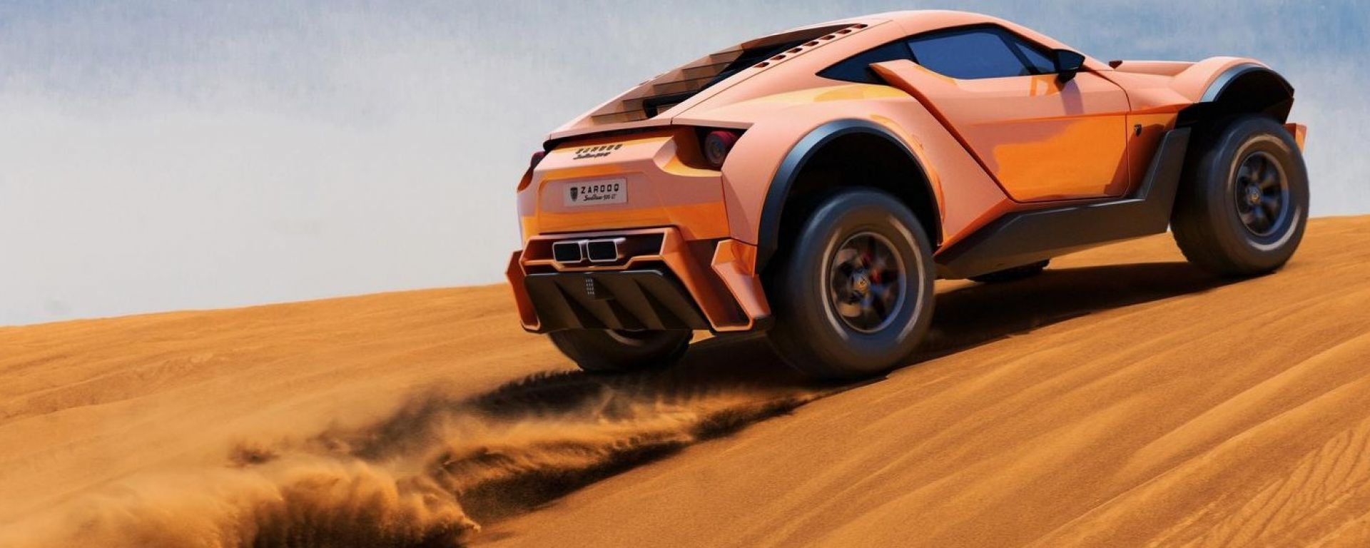 Zarooq Sand Racer 500 GT, a tutto gas nel deserto