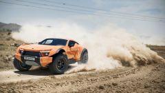 Zarooq Sand Racer 500 GT, le sospensioni hanno un'escursione di 45 cm