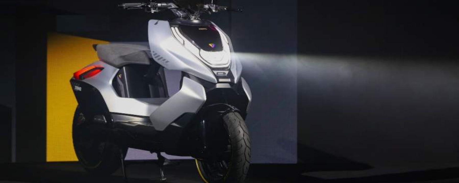 Zeeho Cyber: il primo concept elettrico dal marchio CFMoto