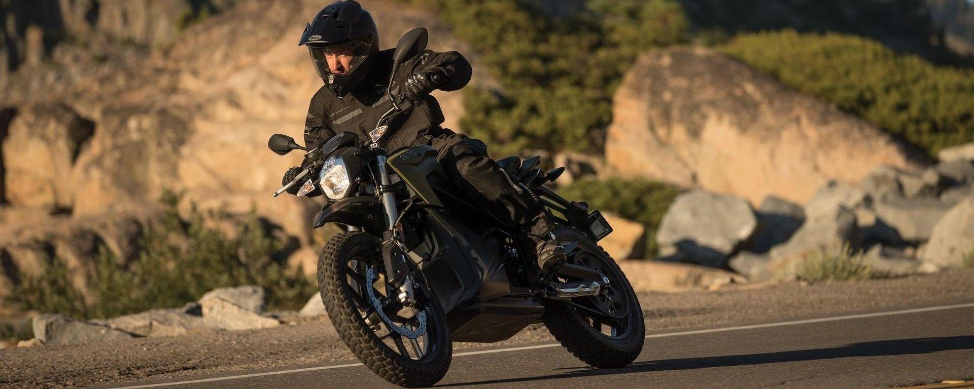 Zero Motorcycle DSR Black Forest: la dual sport elettrica