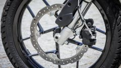 Zero Motorcycles DS 6.5: il freno anteriore