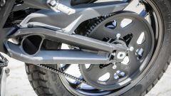 Zero Motorcycles DS 6.5: la trasmissione a cinghia