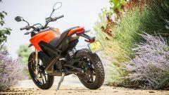 Zero Motorcycles DS 6.5: vista 3/4 posteriore
