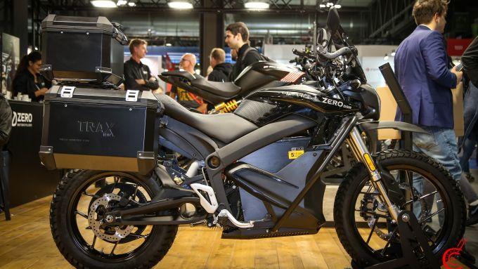Zero Motorcycles DSR Black Forest, l'enduro elettrica americana