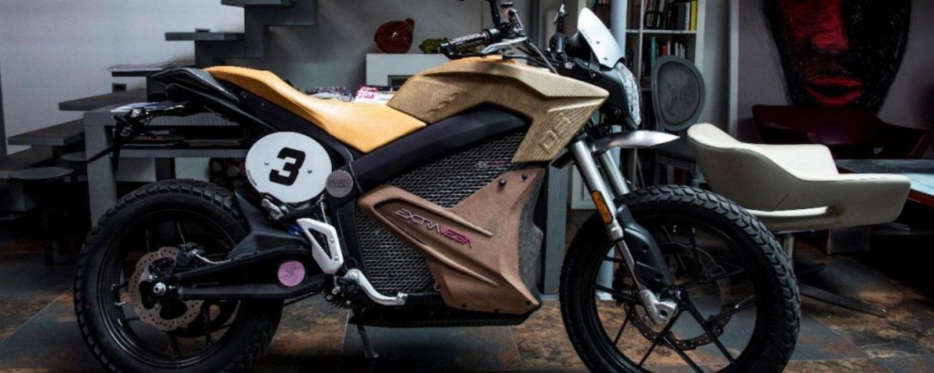 Zero Motorcycles Extravega, tra arte e green mobility