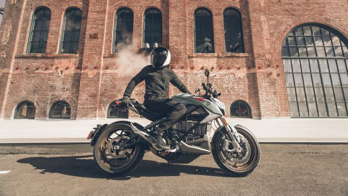 Zero Motorcycles: la SR/F