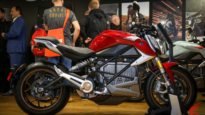 Zero Motorcycles, Zero SR/F, la naked elettrica a Eicma 2019