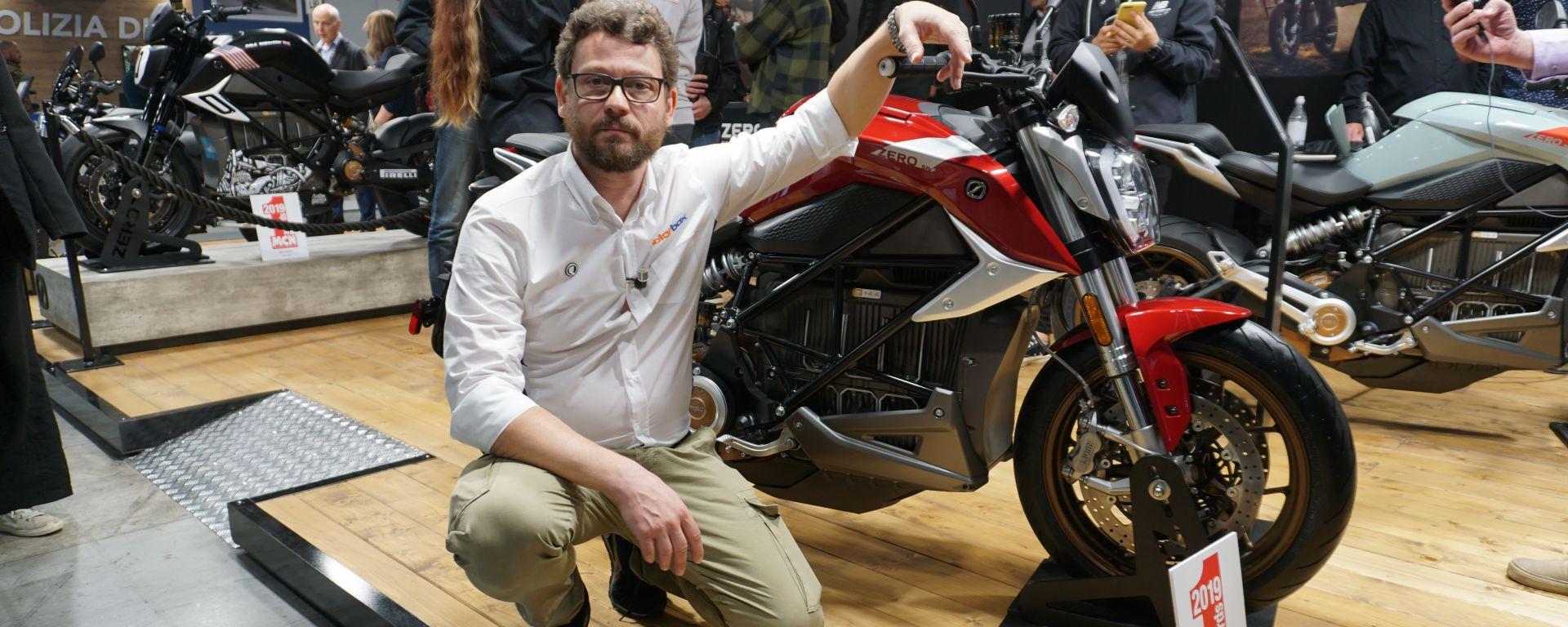 Zero Motorcycles, Zero SR/F, La naked elettrica presentata a Eicma 2019