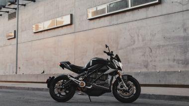 Zero SR/F: la naked con l'esclusivo kit Quickstrike