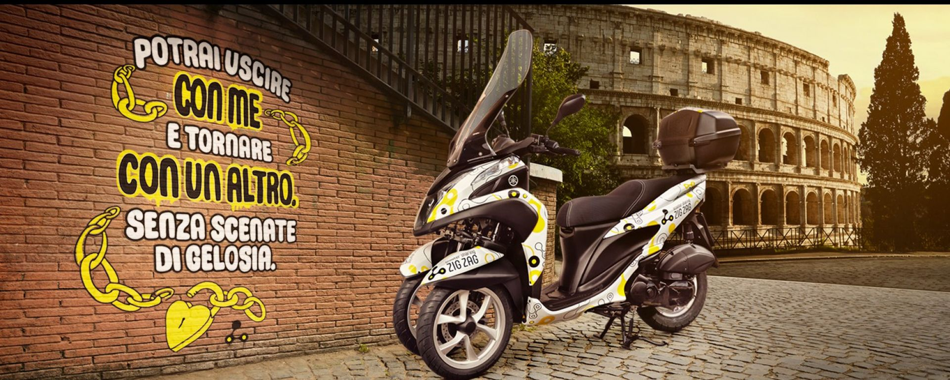 Zig Zag, il nuovo servizio scooter sharing a Roma