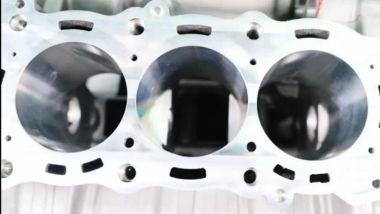 Zonter: i cilindri del motore da 800 cc