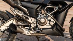 Zontes 125-G1: a protezione del motore ci sono tubolari e paratelaio