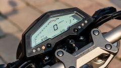 Zontes 125-G1: la strumentazione LCD