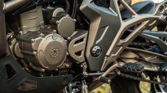 Zontes 310T: dettaglio del motore da 312 cc