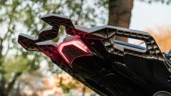 Zontes 310T: il faro posteriore a LED