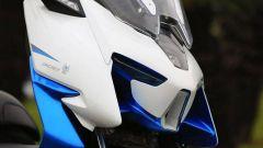Zontes ZT300T-M: il frontale del nuovo scooter da 300 cc