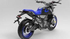 Zontes, nuova gamma 350 2022: motore e potenza della ZT350-GK